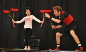 Fluoteatro (bailarines y animacion teatral)