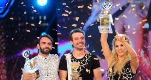 pedro alfonso, peter alfonso, showmatch 2016, bailando por un sueño 2016, campeones, flor vigna