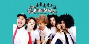 contratar a los fantabulosikos, show infantil, espectaculo infantil