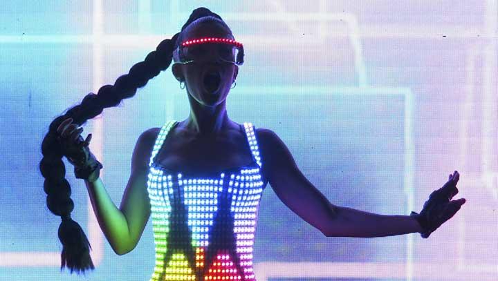 contratar a electroarte light performers