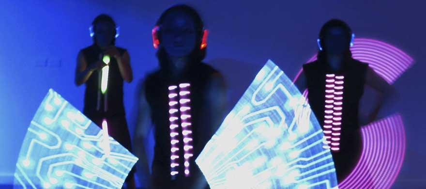 Contratar a Light Pixel Trio