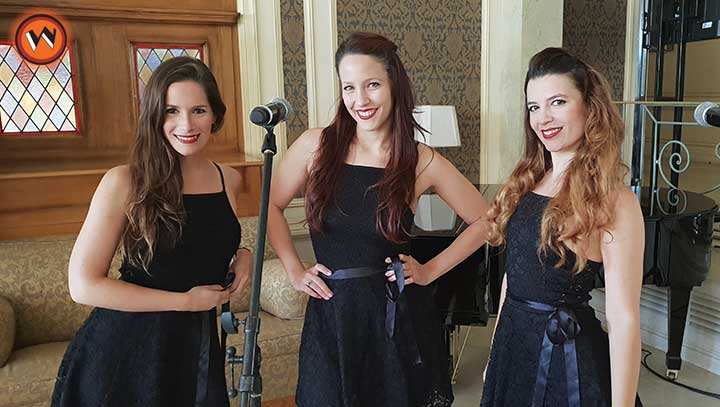 contratar a foco vocal trio