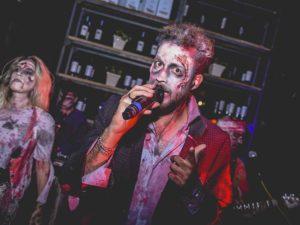 contratar a banda zombie