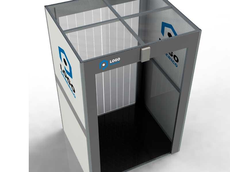 contratar el servicio de cabinas de sanitizacion