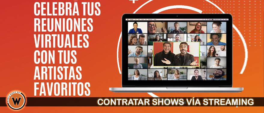Contratar Shows Via Streaming